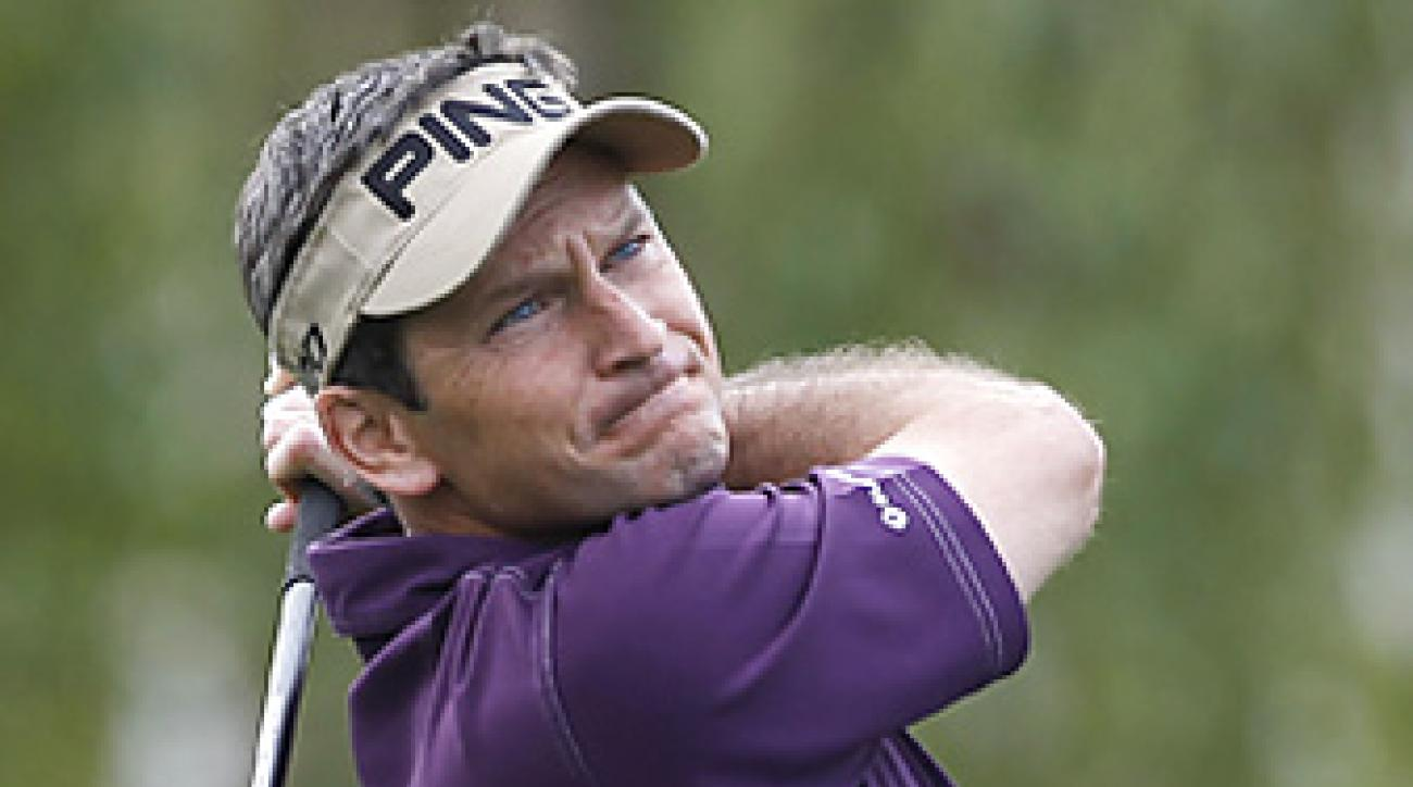 Mark Wilson was accurate off the tee in the final round at the Humana Challenge.