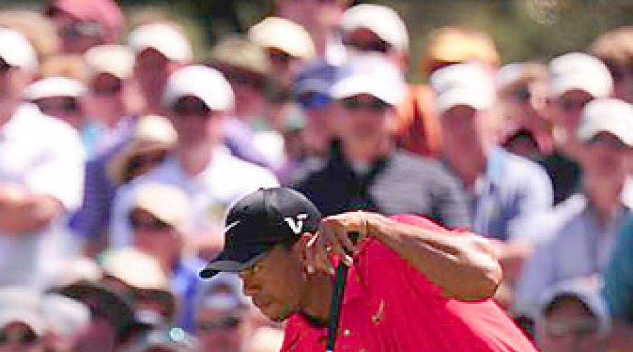 Tiger Woods, who finished tied for 40th last week at the Masters, won in Quail Hollow in 2007.