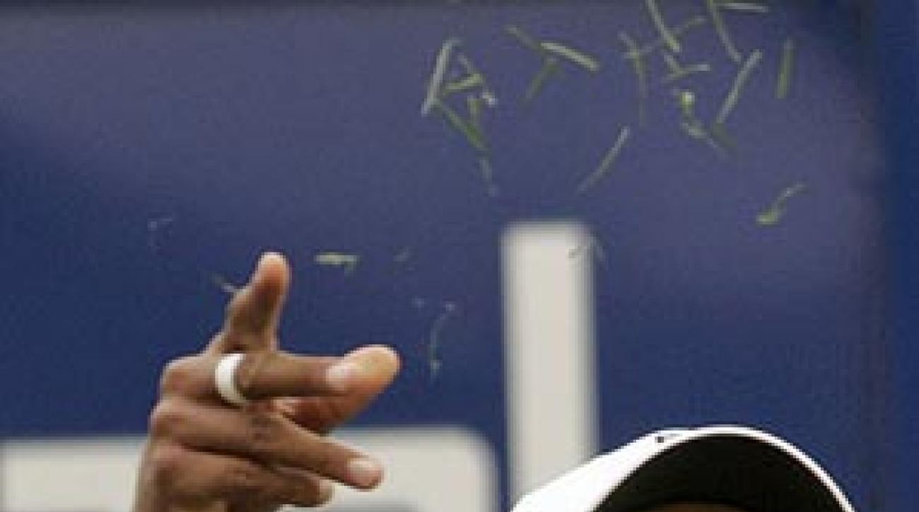 Tiger Woods shot 71 on Friday.