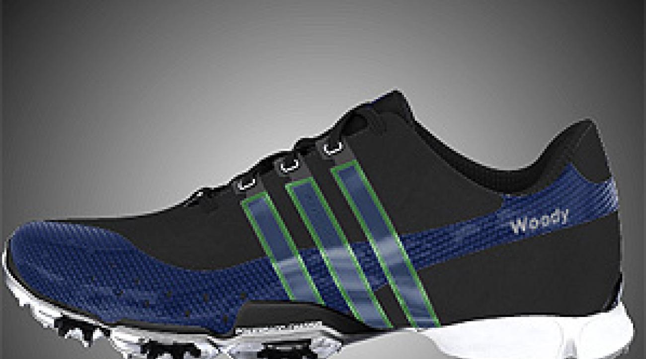 Woody Hochswender's customized Adidas PowerBand 3.0