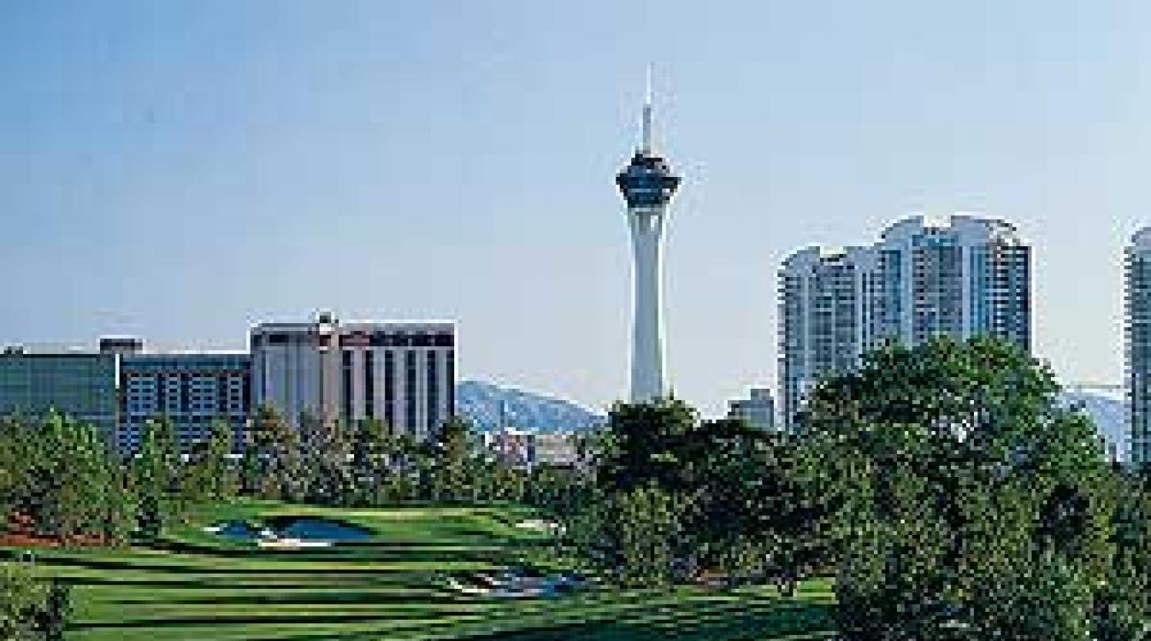 The 16th hole at Wynn Las Vegas