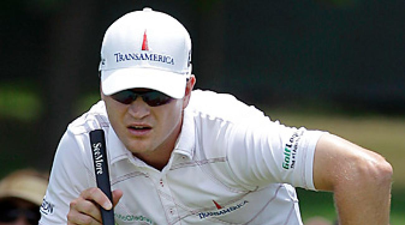 Zach Johnson was hit with a two-shot penalty on the final hole, but still won the Colonial by one shot.