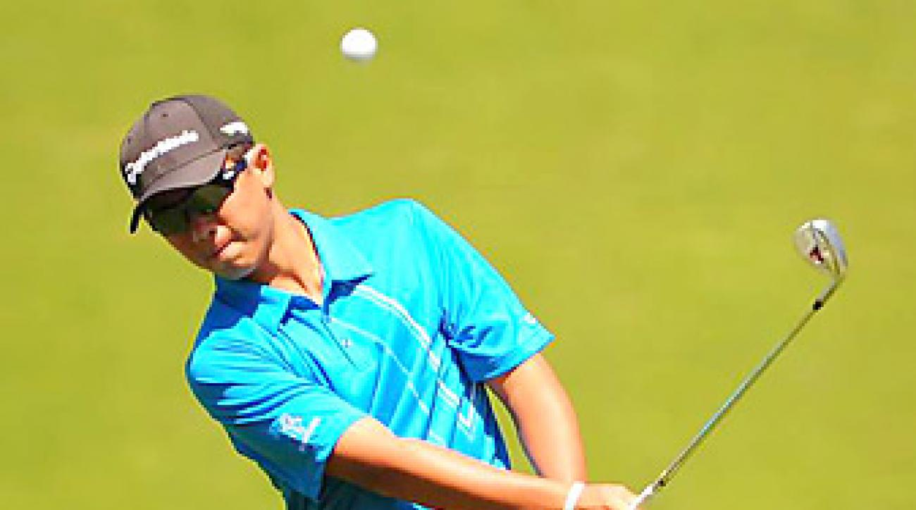 """Andy Zhang, 14, and the rest of the field will find Olympic's rough more accommodating than typical U.S. Opens. <a href=""""http://www.golf.com/photos/practice-rounds-2012-us-open/tigermartintuesdayjpg""""><strong> Practice Round Photos</strong></a>"""