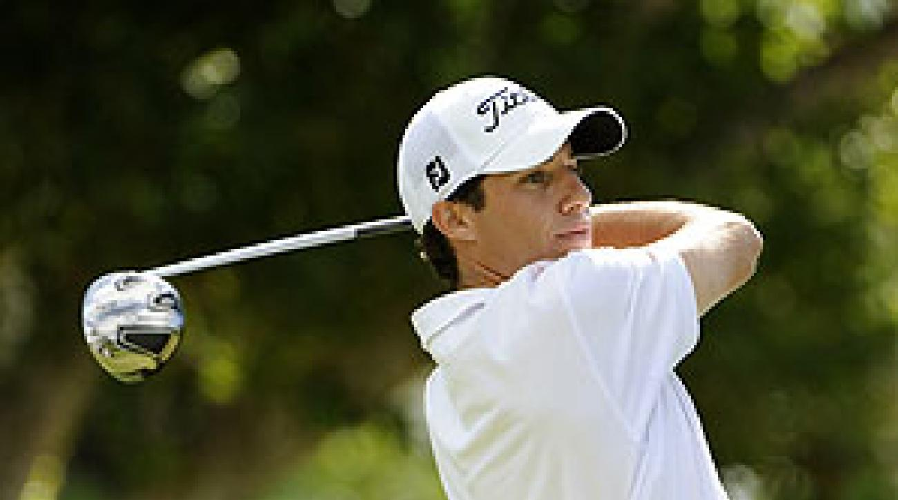 Aaron Goldberg Monday-qualified for the Sony Open.