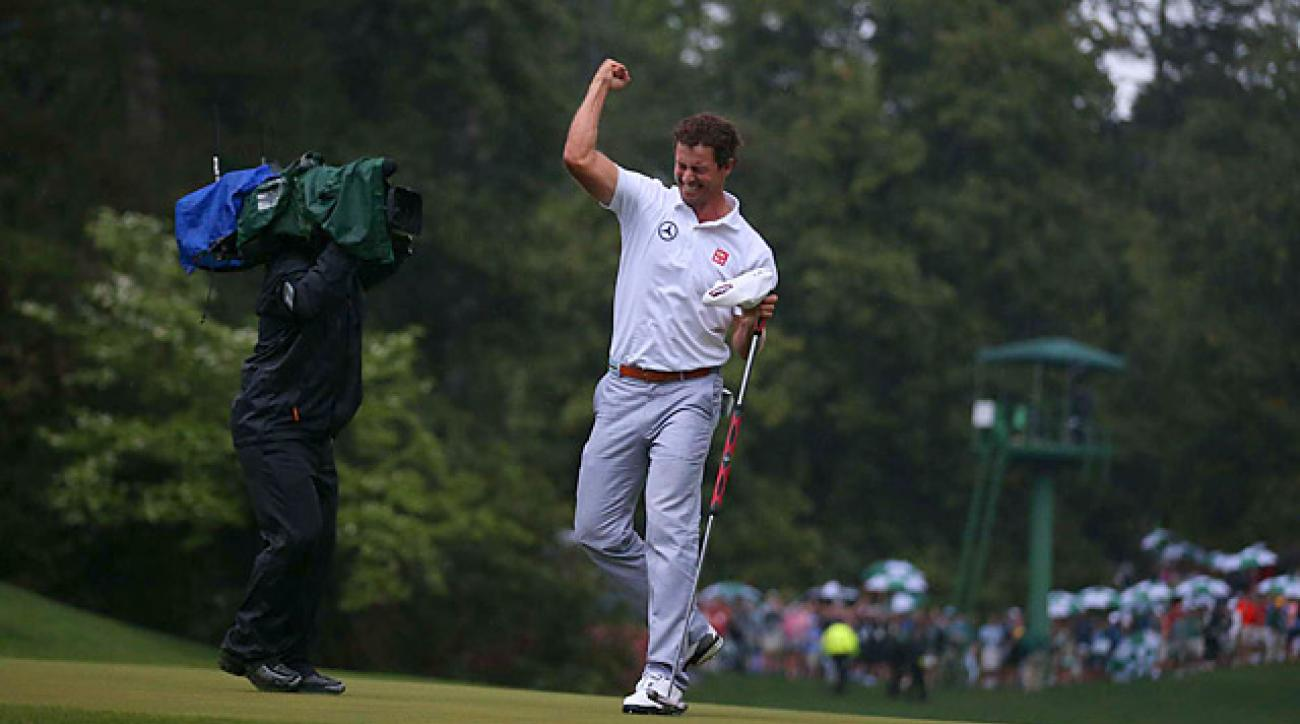 Adam Scott is the first Australian ever to win the Masters.