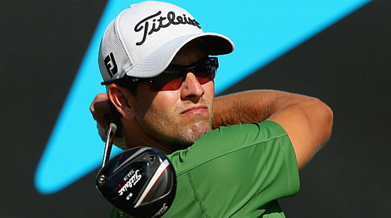 Scott's Masters victory was honored on day 2 at the Aussie PGA.