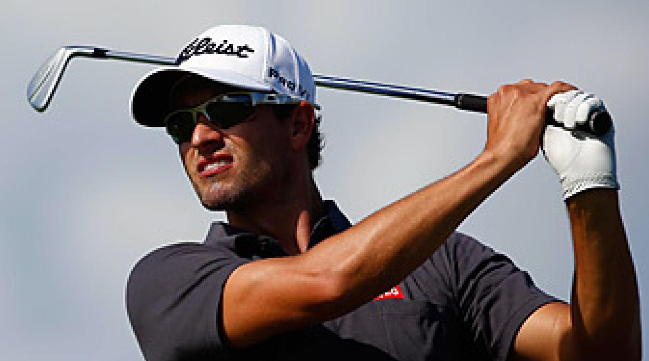 Adam Scott's performance in Australia late in the year supplemented his case for the Player of the Year Award.