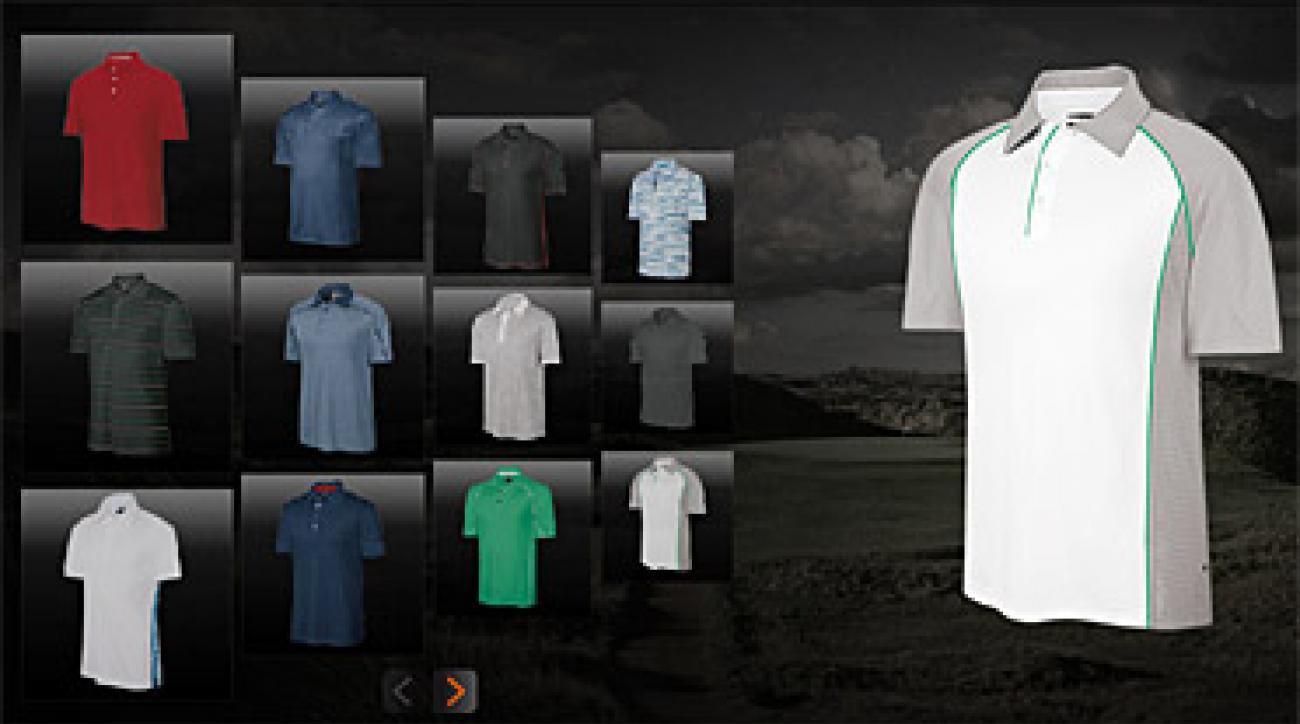 ClimaCool shirts come in a variety of styles and fits.