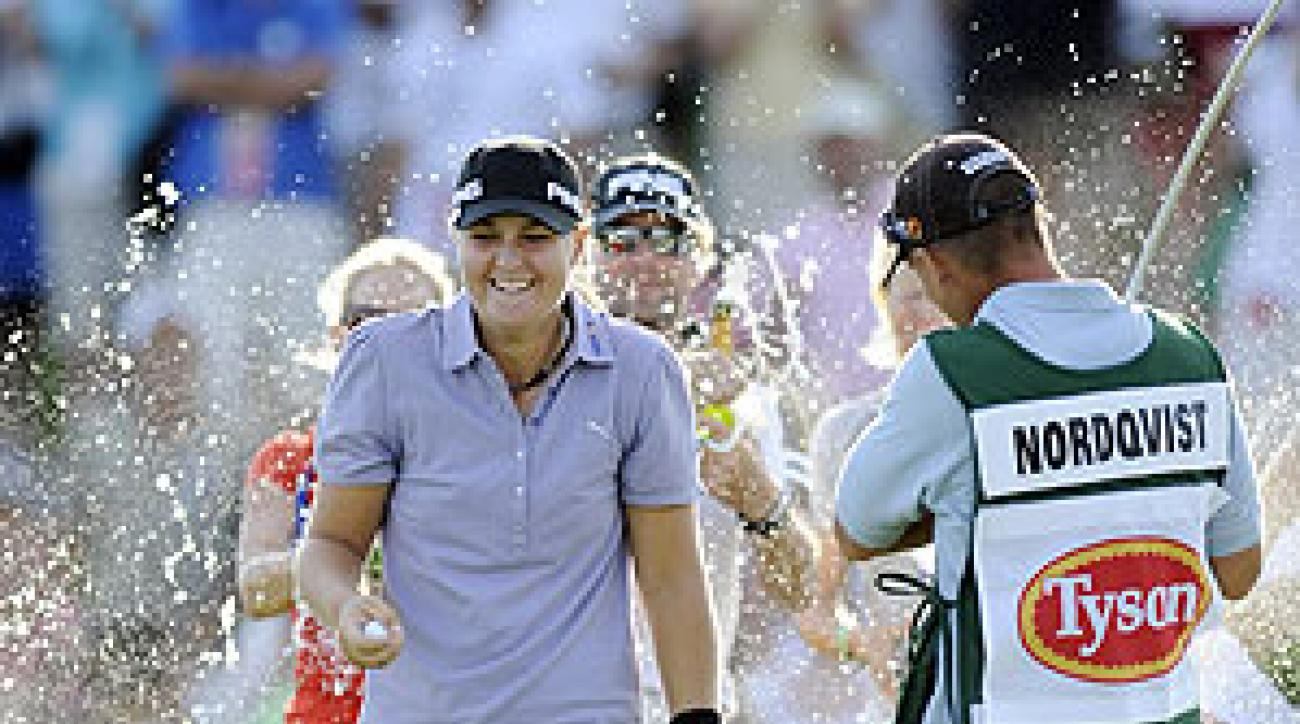Anna Nordqvist was 15 under par for the tournament.