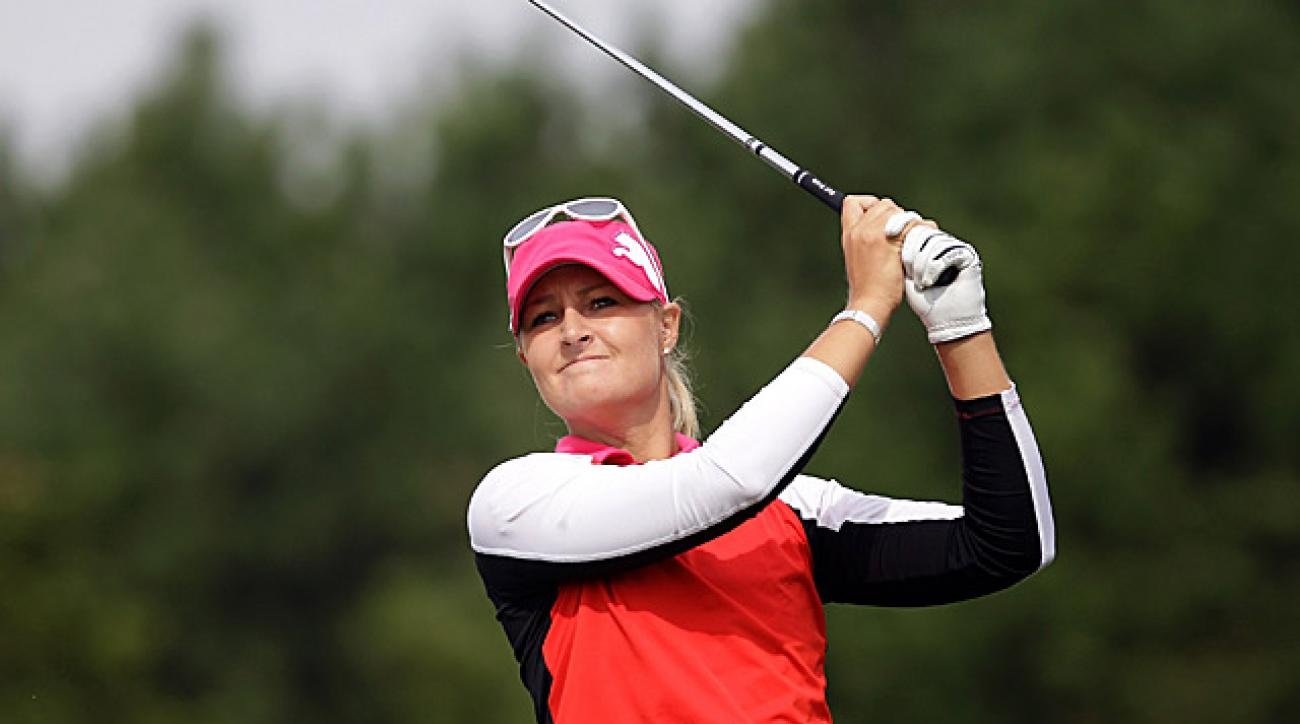 Anna Nordqvist's 70 was good enough to get her into a share of the lead.