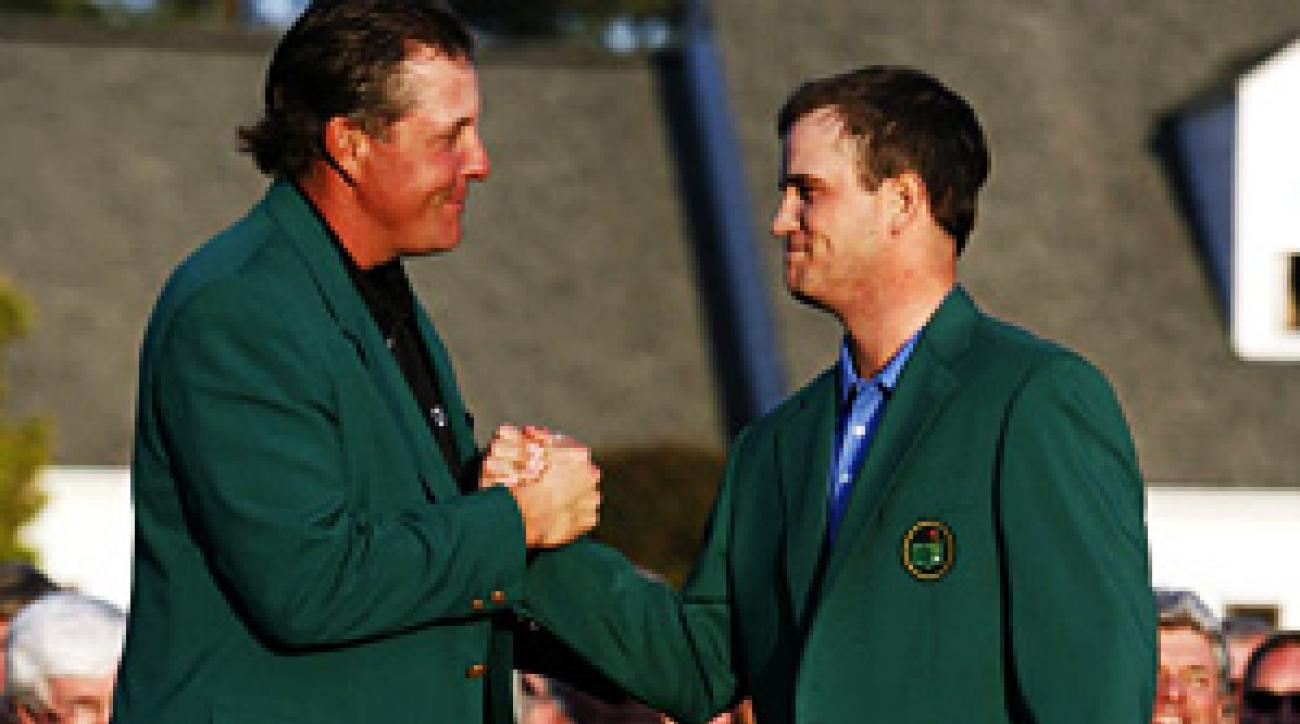 Zach Johnson's Masters win thwarted Tiger's shot at a grand slam, and one of Gary Van Sickle's 2007 predictions.