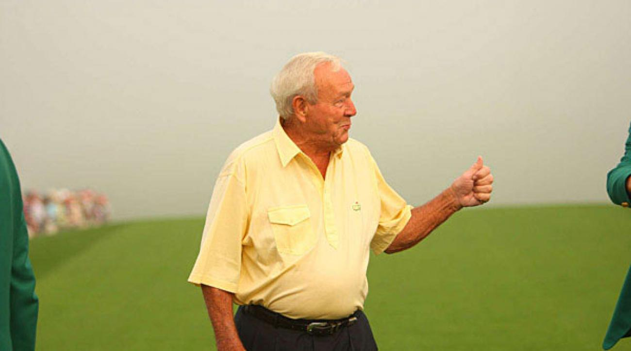 """<p><!-- --><a target=""""_blank"""" class=""""article_link"""" href=""""http://www.fannation.com/truth_and_rumors/view/88672-arnie-involved-in-pebble-beach-changes""""><strong>Truth & Rumors: Arnie involved in Pebble Beach changes</strong></a><!-- / --></p>                                  <p>Arnold Palmer has been intimately involved with the changes at Pebble Beach in advance of next year's U.S. Open - adding new bunkers, building new tees (to lengthen the course) and pushing fairways closer to the ocean. He's optimistic the tweaks will strengthen Pebble in a """"subtle"""" way. """"We've made changes without being obnoxious,"""" Palmer said in a telephone interview this week. """"We really aren't trying to change the character of Pebble Beach. ... I'd like to think we're making it more demanding off the tee. We're giving guys a little more to think about when they're whacking those long tee shots."""" Palmer also offered his take on course conditions at Augusta National, where the past two Masters have turned into grinding, U.S. Open-like affairs. Many golf insiders expect club Chairman Billy Payne to pull back slightly this year, with a friendlier course set-up designed to restore excitement. """"Everybody is trying to build really difficult courses and maybe we've gone past the spot we should,"""" Palmer said. """"In other words, don't eliminate the birdies and eagles - the possibility of a guy making eagle to win the tournament excites people. ... I think Augusta has gone as far as they want to go, and they'll soften it a little.""""</p>                                  <p>                 • <!-- --><a target=""""_blank"""" class=""""article_link"""" href=""""http://www.sfgate.com/cgi-bin/article.cgi?f=/c/a/2009/01/29/SPAI15ISUF.DTL""""><strong>Read the entire article at sfgate.com</strong></a><!-- / --><br />                 • <!--  --><a target=""""_blank"""" cl"""
