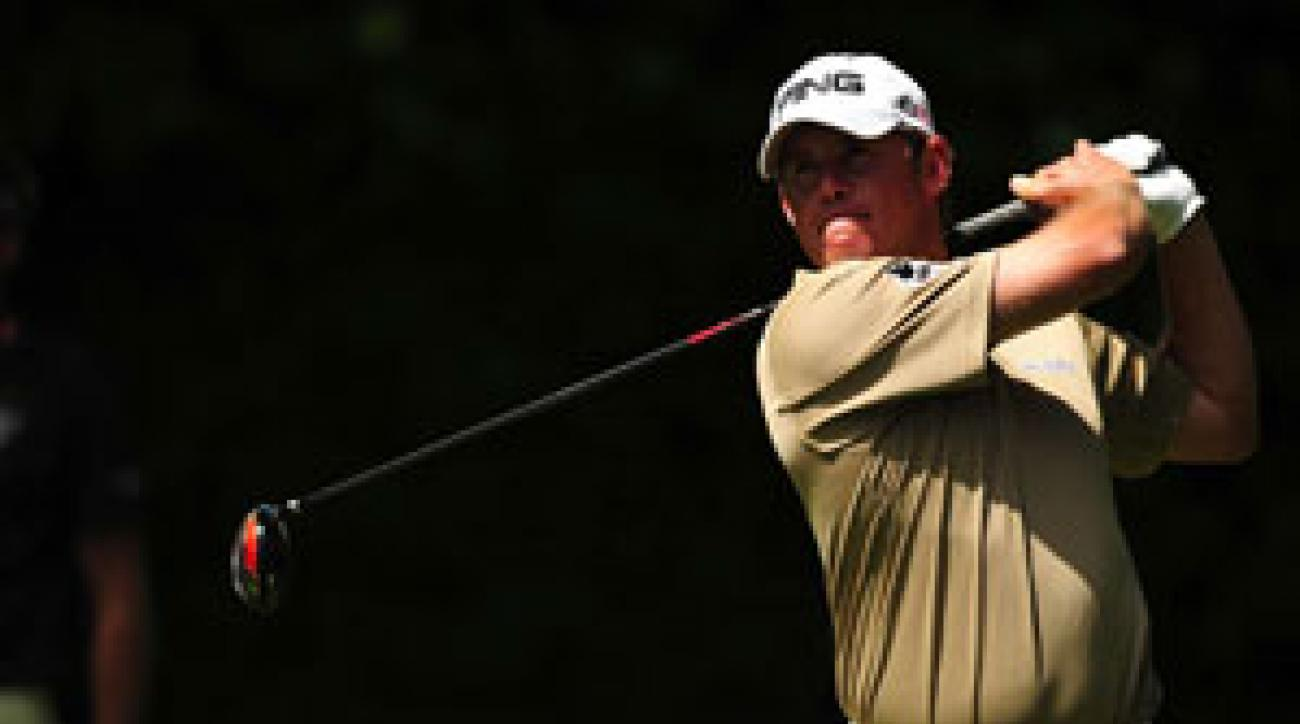 Lee Westwood finished with a one-shot lead, despite two eagles by Phil Mickelson.