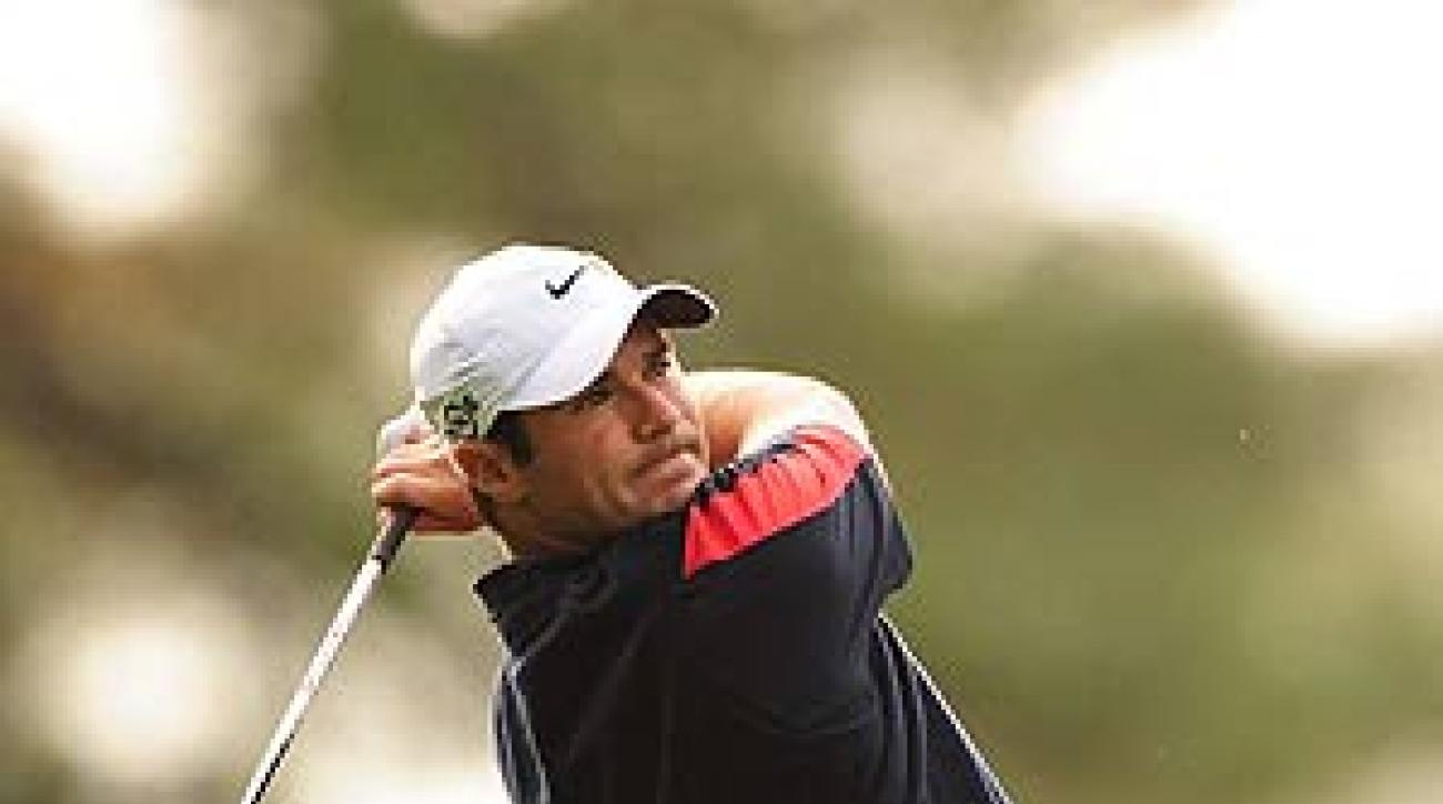 Immelman closed his round with back-to-back birdies.
