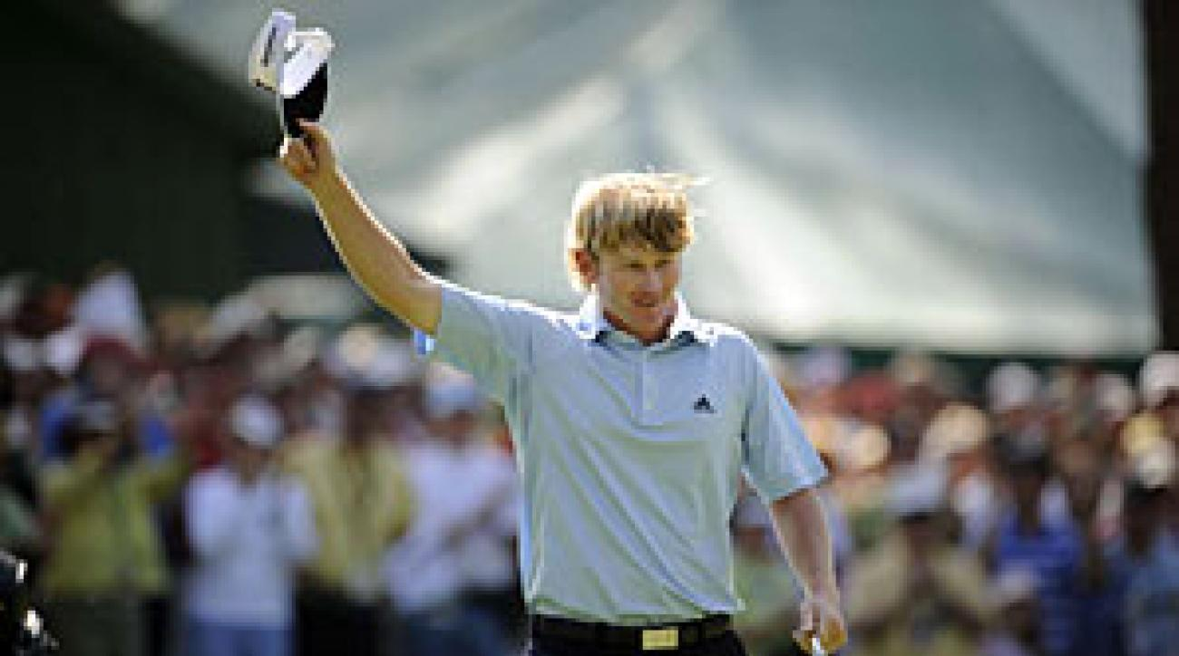 Brandt Snedeker will be in the final group on Saturday.