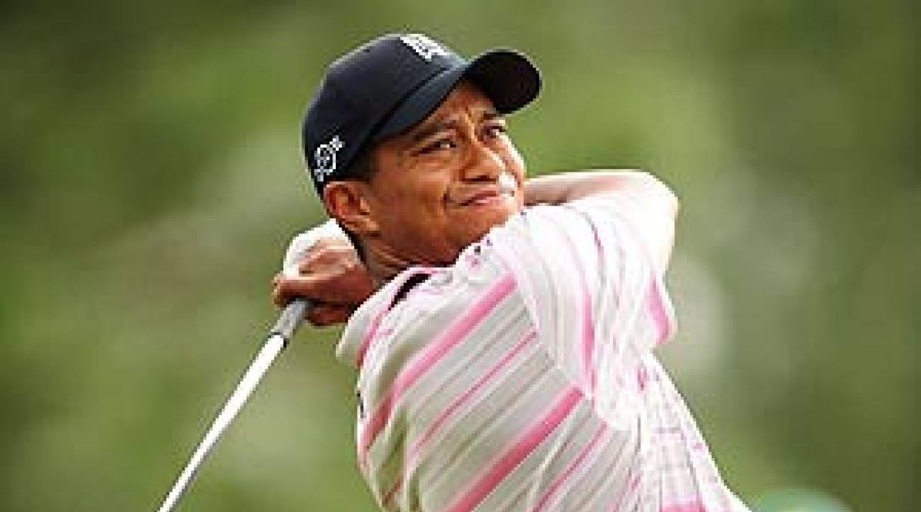 Thursday was one of the better first rounds Tiger has had at the Masters.