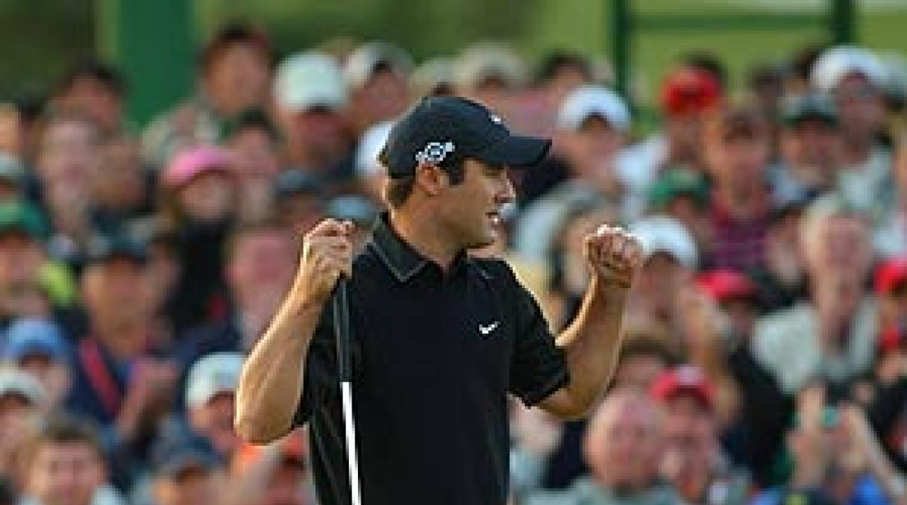 """From this day forth, he will be known as """"Trevor Immelman, Masters champion."""""""