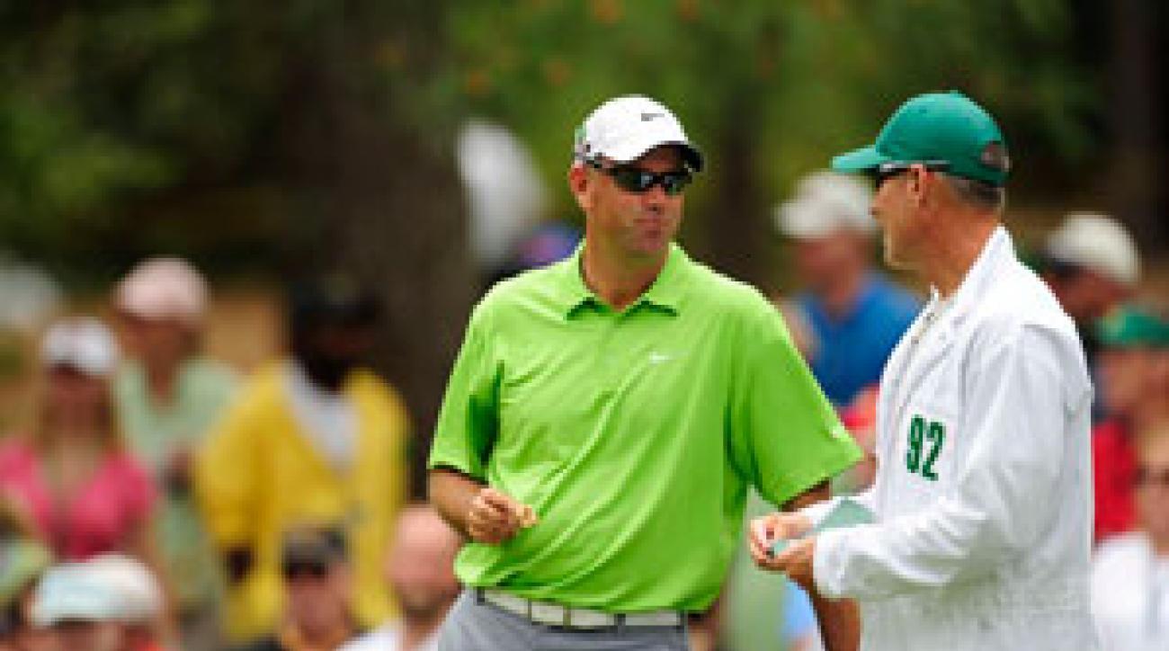 Stewart Cink missed the cut last week at the Masters.