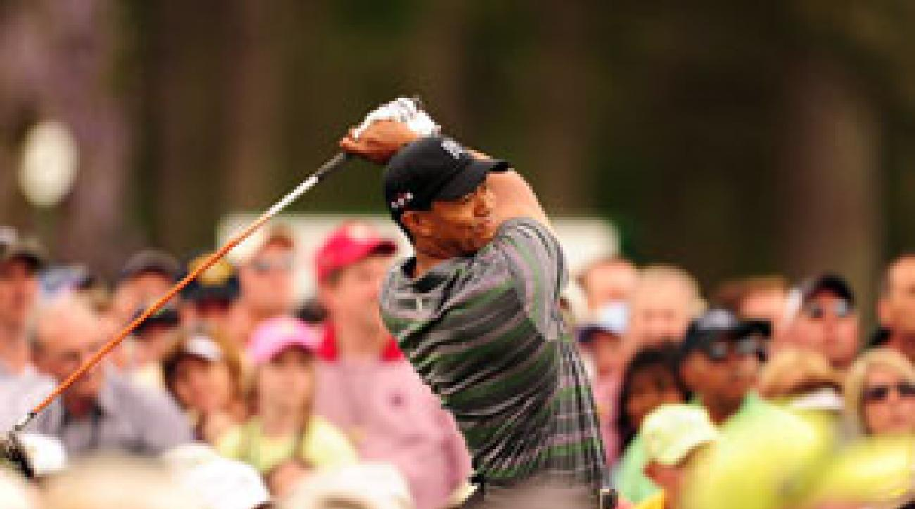 Tiger Woods finished T4 at the Masters.