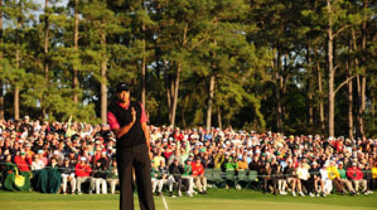 Not even a birdie on 18 Sunday could lift Tiger's spirits.