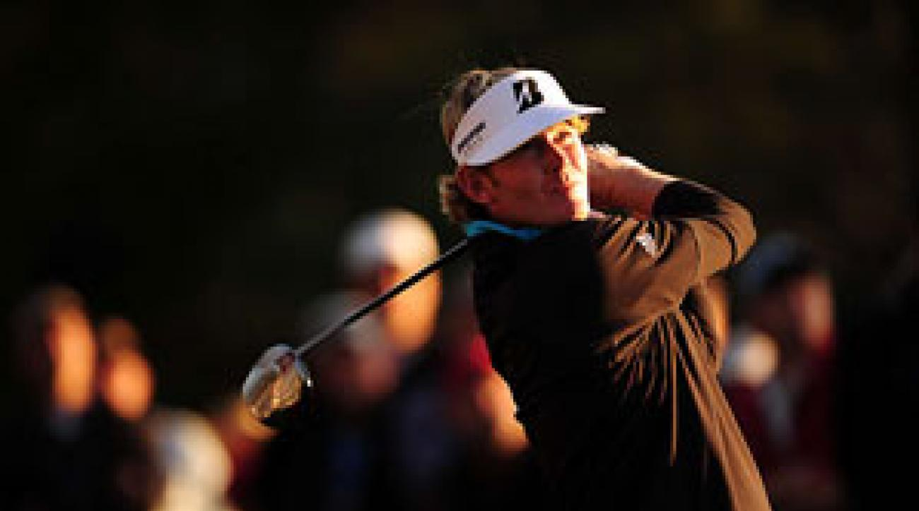 Brandt Snedeker finished in third place at the Masters.