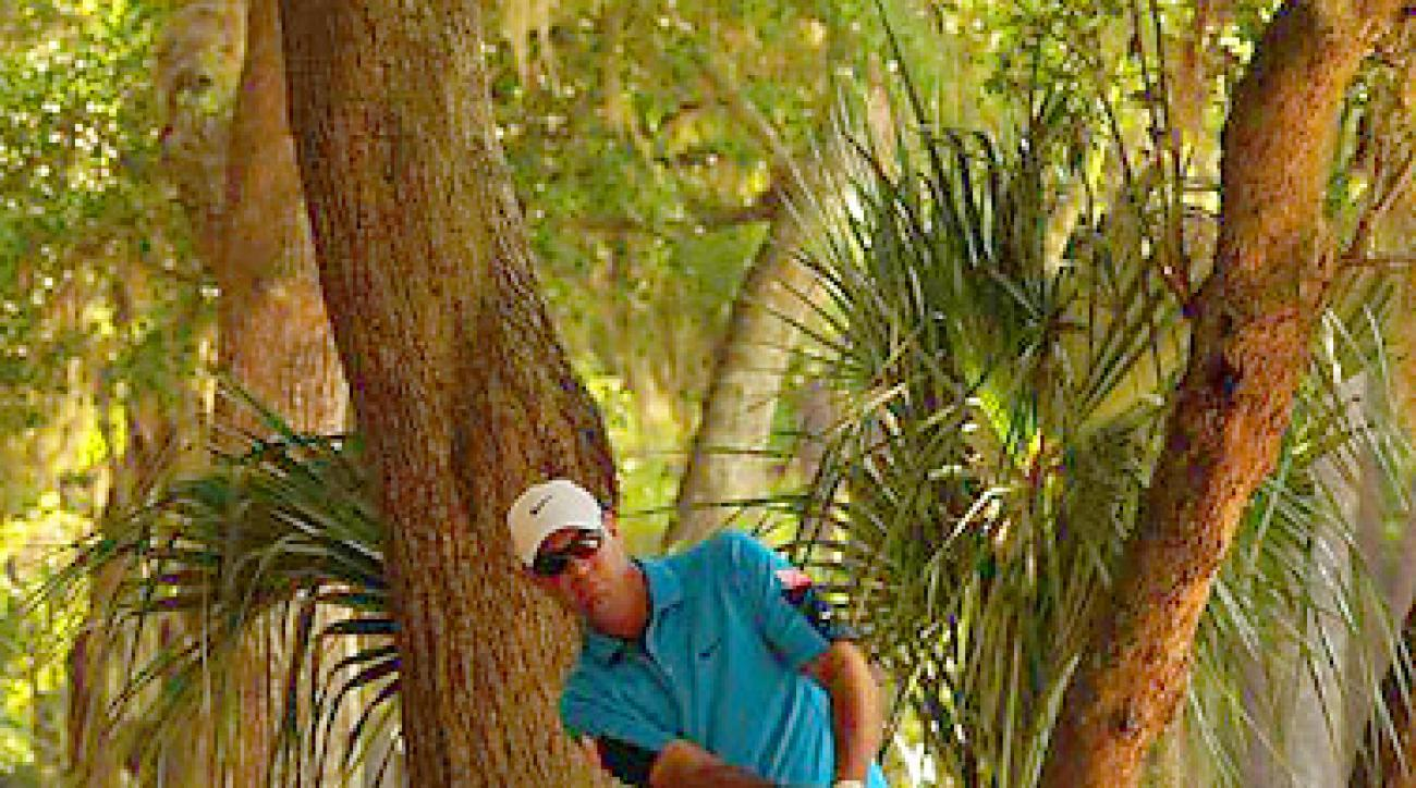 LOST AT SEA PINES: Cink, who missed the cut at the Heritage by 11 shots, has only one finish better than 29th in 10 starts on Tour this season.