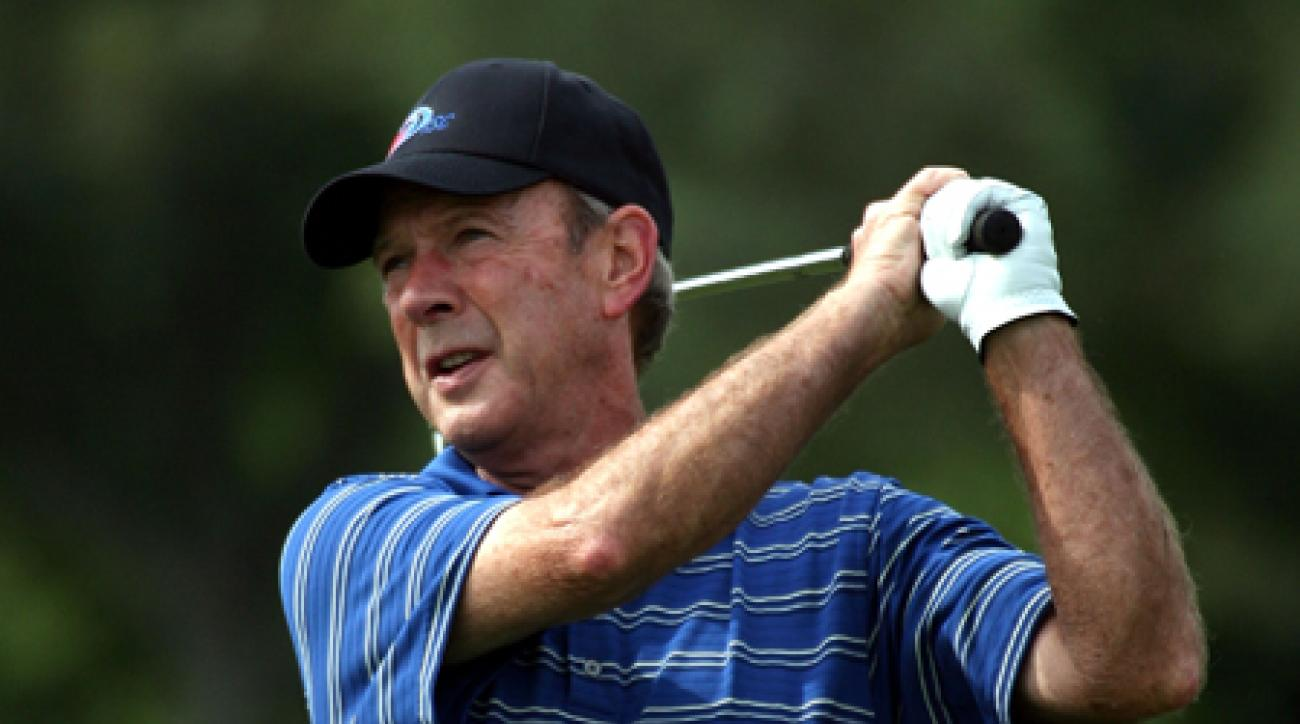 Larry Nelson shot a six-under 65 for a one-shot lead over Nick Price.