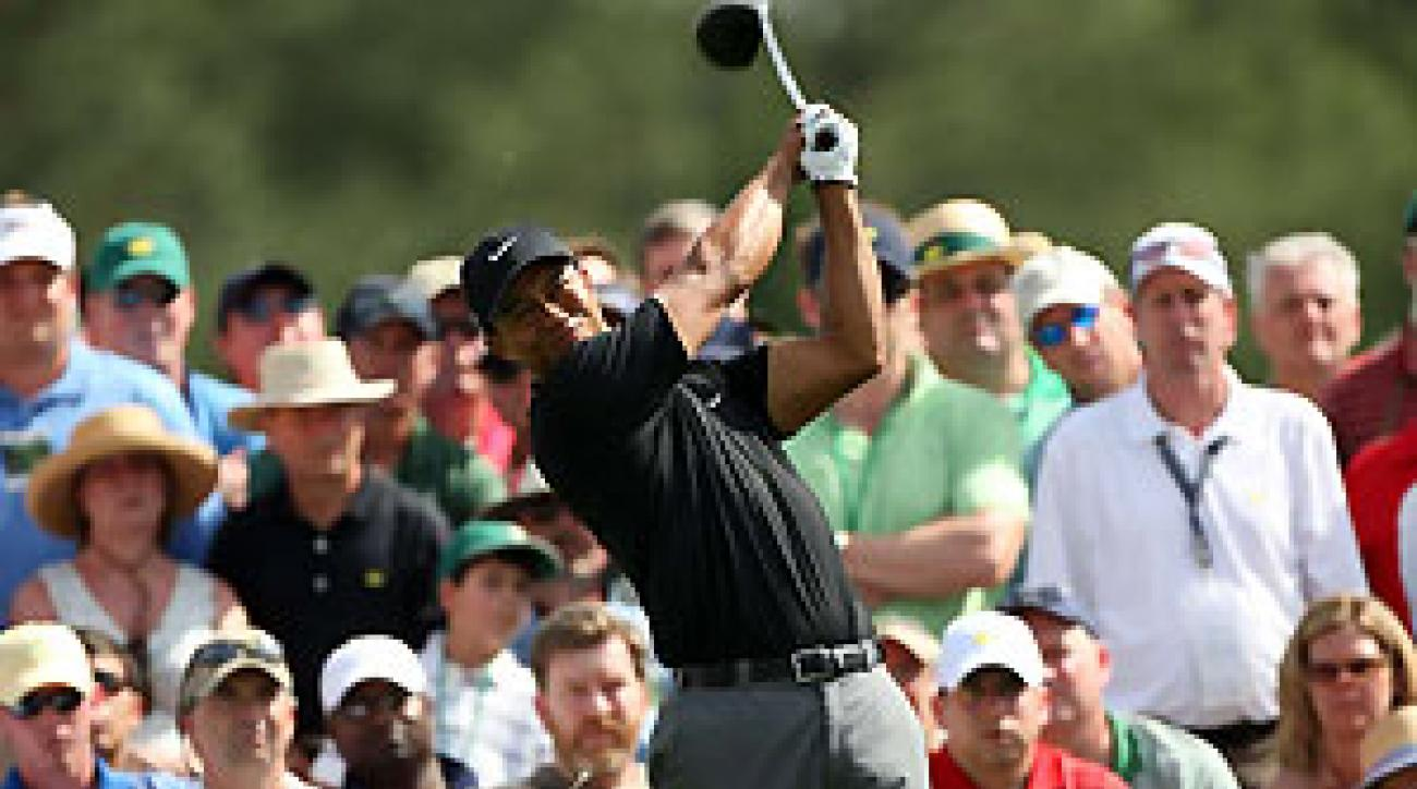 Tiger Woods won his first tournament back after knee surgery in 2002.