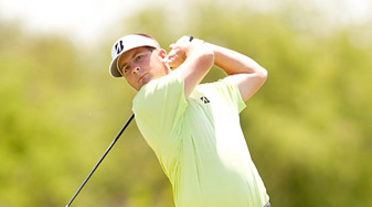 Matt Every takes a three-shot lead into the second round after setting the course record Thursday.