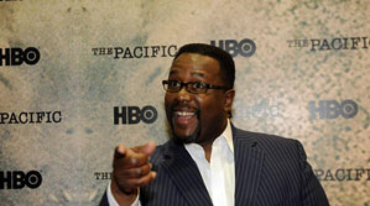 Actor Wendell Pierce is helping to rebuild a golf course in New Orleans.