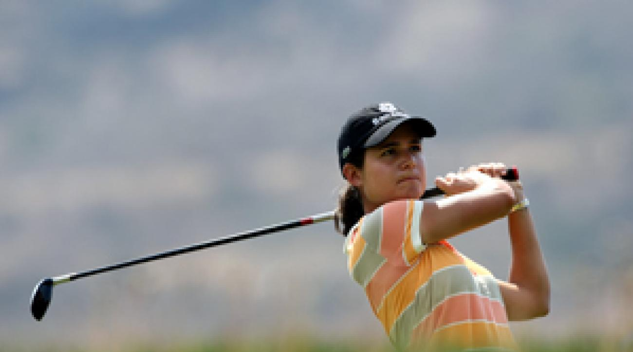 Lorena Ochoa shot an eight-under 65.
