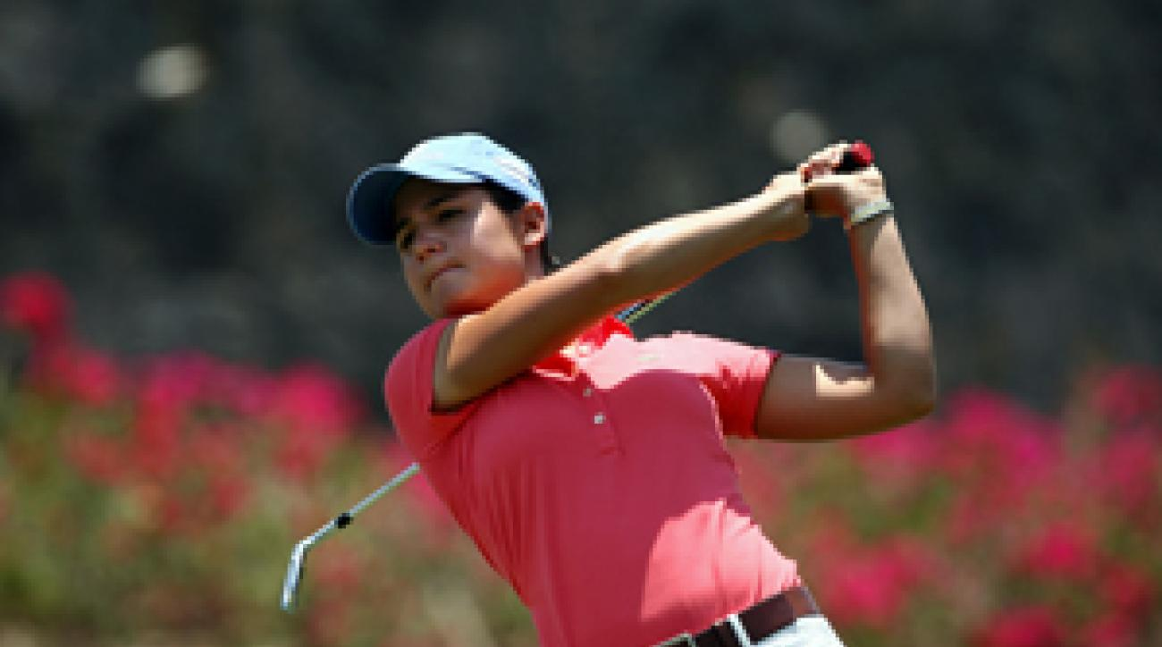 Lorena Ochoa shot a four-under 69.