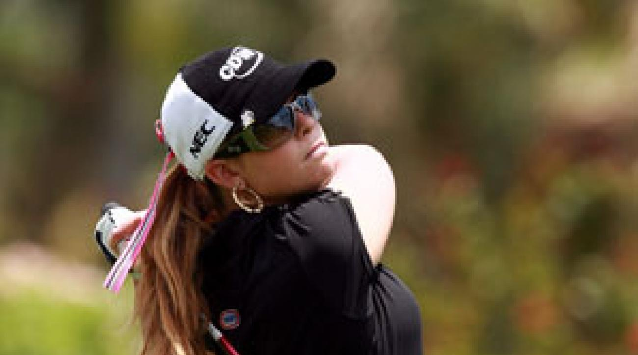 Paula Creamer made four birdies and no bogeys.