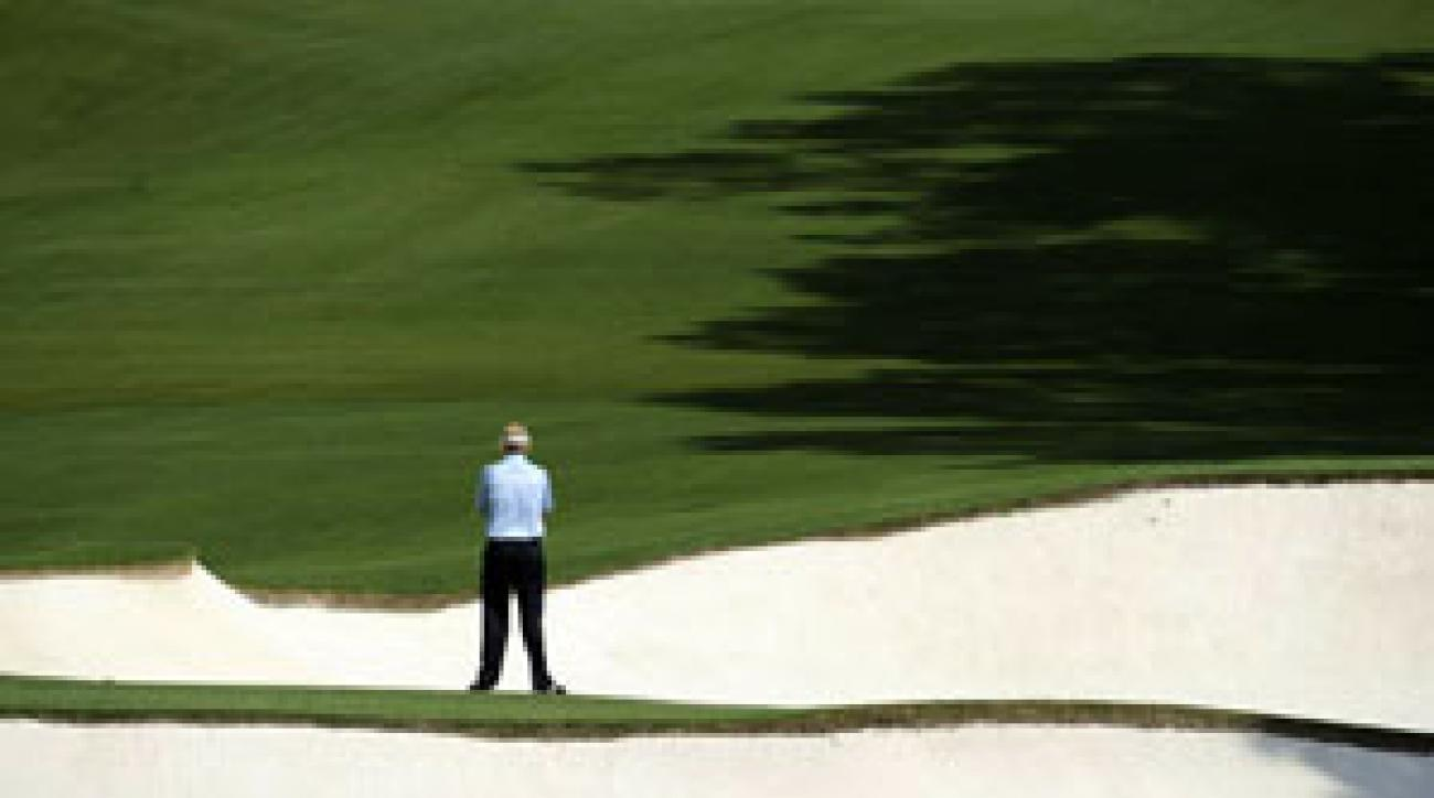 A contemplative Snedeker found splendor in the Augusta National grass on Friday afternoon, when he was still loose and carefree.