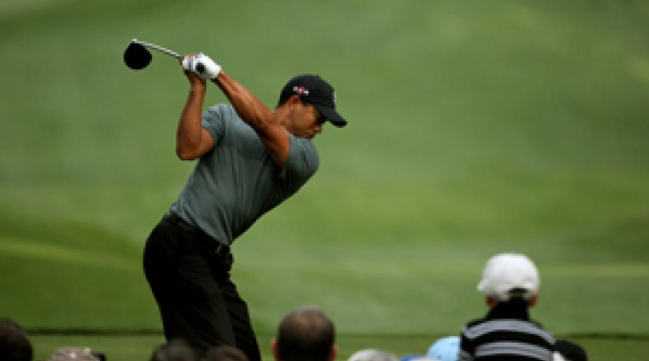 Tiger Woods won the Quail Hollow Championship in 2007.