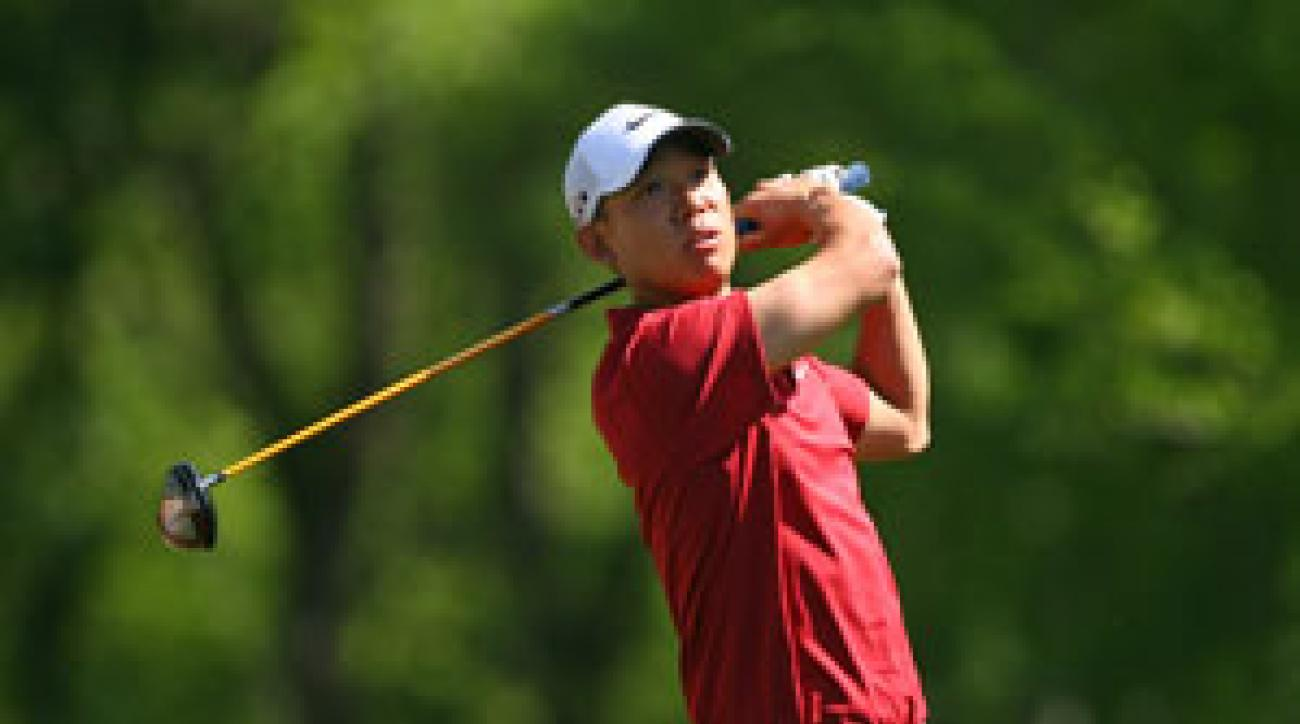 Anthony Kim made five birdies and two bogeys on Saturday.
