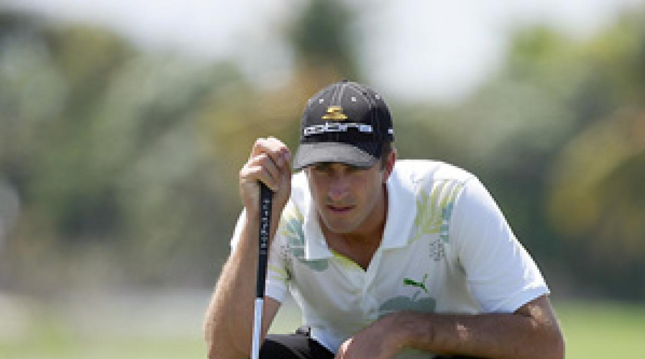 Geoff Ogilvy played in his first Masters last year and finished tied for 16th.