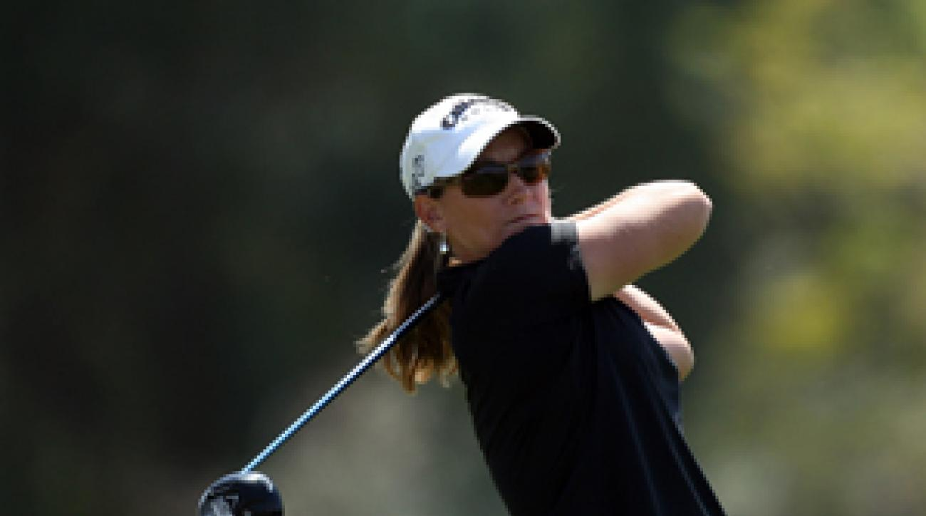 Kristy McPherson made four birdies and two bogeys on Saturday.