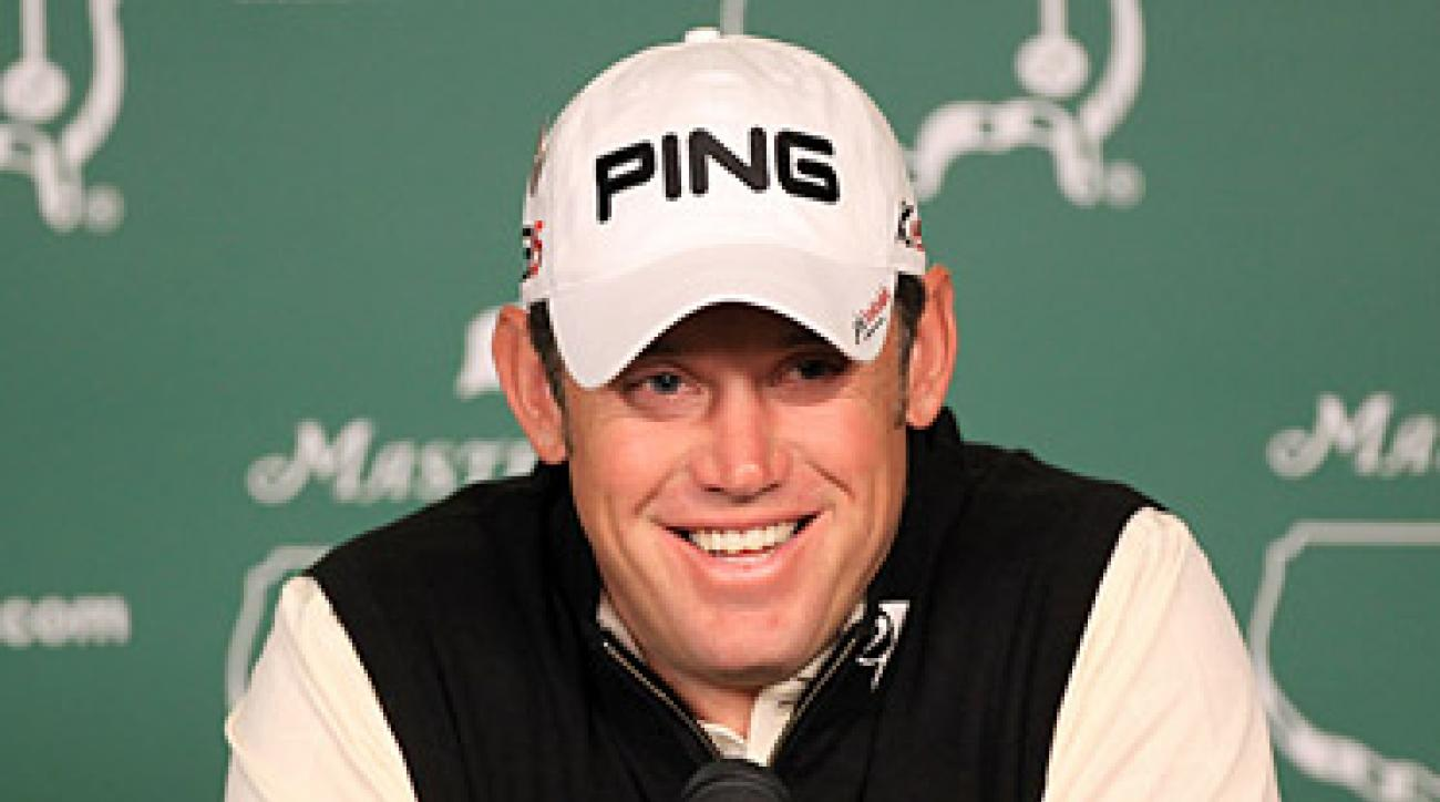 Lee Westwood finished second last year at the Masters and the British Open.