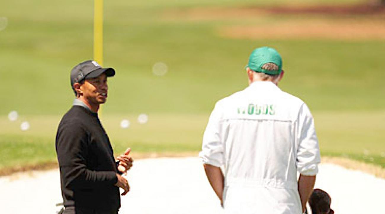 Tiger Woods is looking for his fifth green jacket this week at Augusta National.