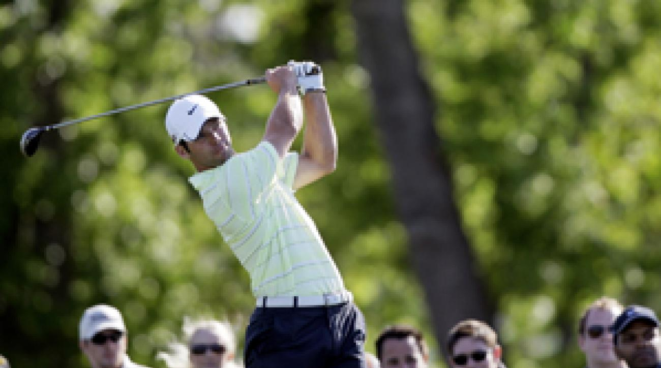 Paul Casey made a bogey on the first playoff hole to beat J.B. Holmes.