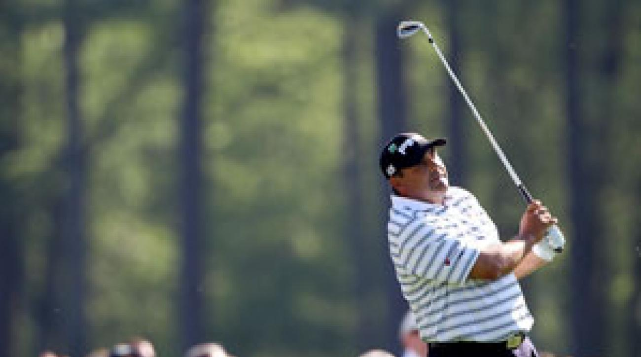 Angel Cabrera has four career top-10 finishes at the Masters.