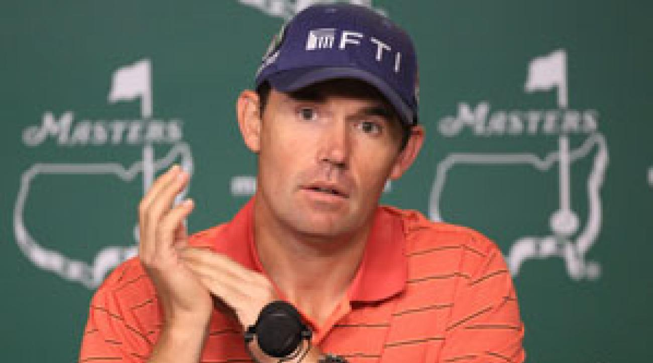 Padraig Harrington said on Tuesday he's seen changes in Tiger's behavior.