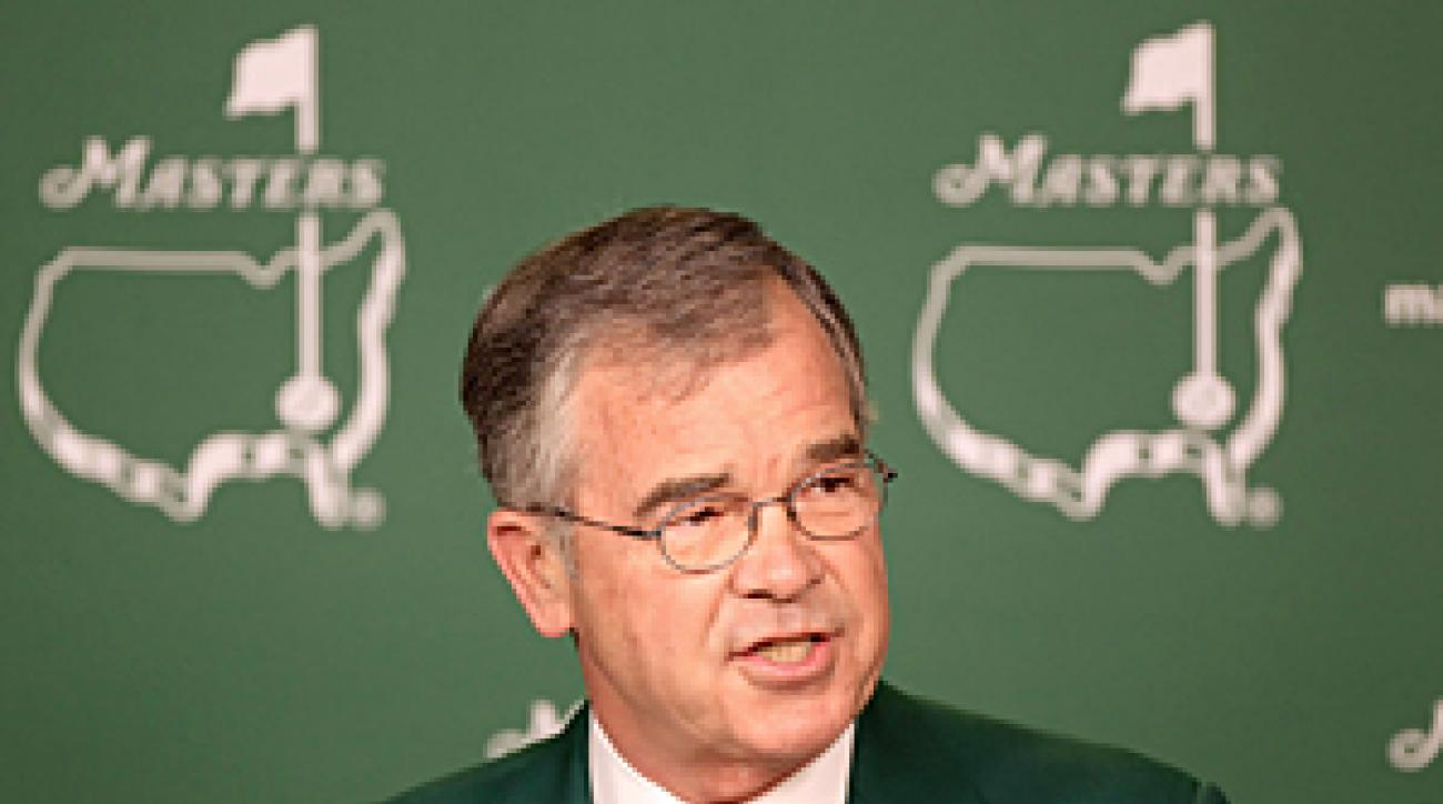 Billy Payne announced that a limited amount of tickets will be available via a lottery for the 2012 Masters.
