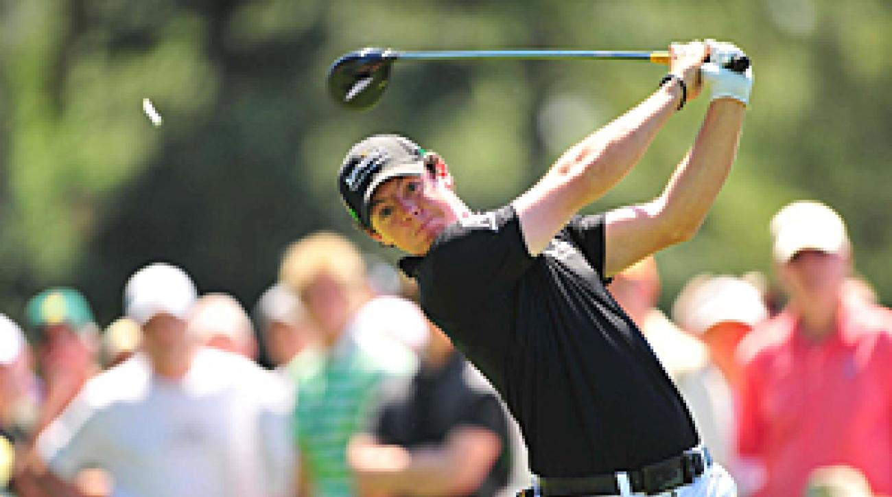 Rory McIlroy missed the cut last year at the Masters.
