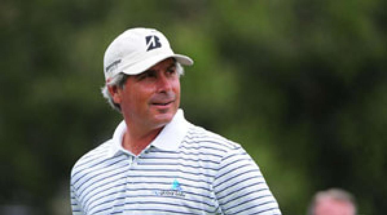 Fred Couples, 50, shot his lowest round ever at the Masters on Thursday.