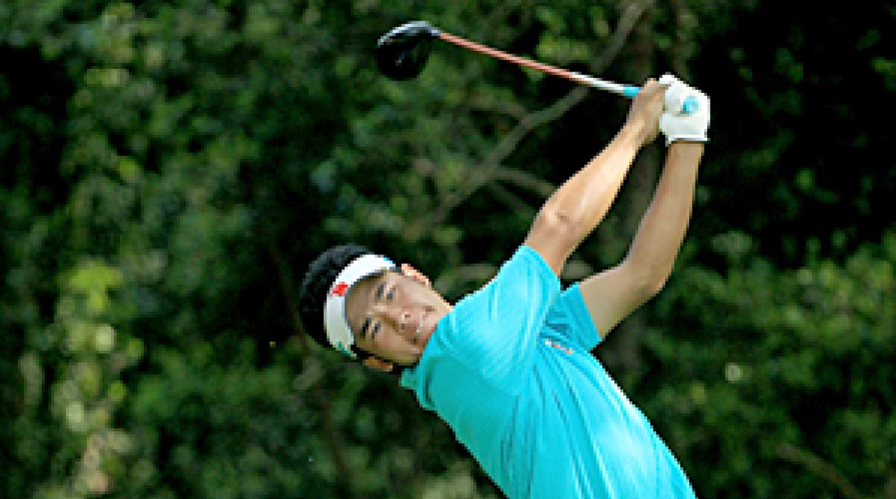 Hideki Matsuyama was the only amateur to make the cut.