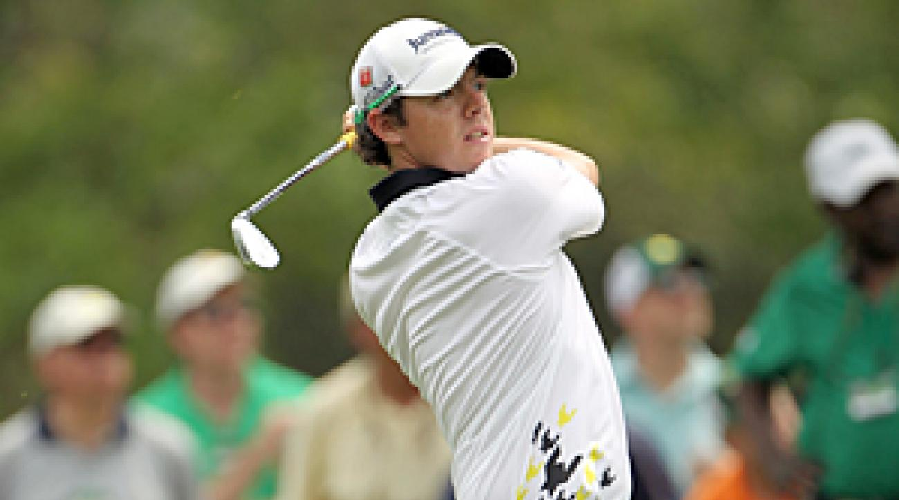 Rory McIlroy is paired with Angel Cabrera in the final round.