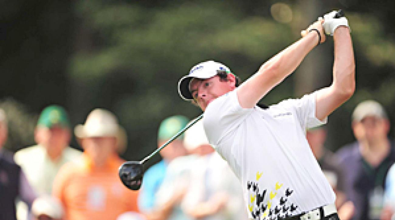 Rory McIlroy made four birdies and two bogeys.
