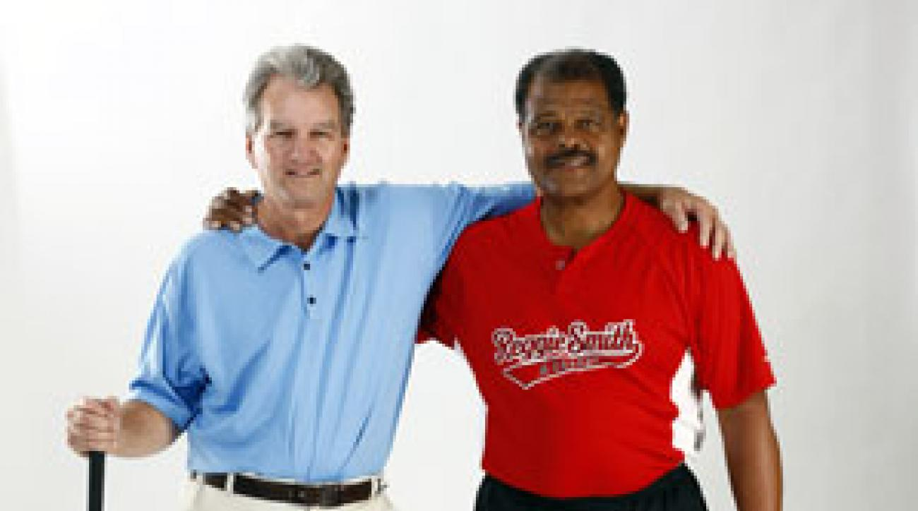 Dr. David Wright, left, is a Top 100 Teacher and biomechanics expert. Reggie Smith is a switch-hitting legend and MLB batting coach.